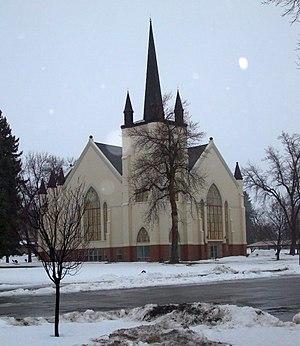 Wellsville Tabernacle - The Wellsville Tabernacle in 2009