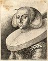 Wenceslas Hollar - The same woman, with a ruff (State 2).jpg