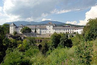 Wernberg Place in Carinthia, Austria