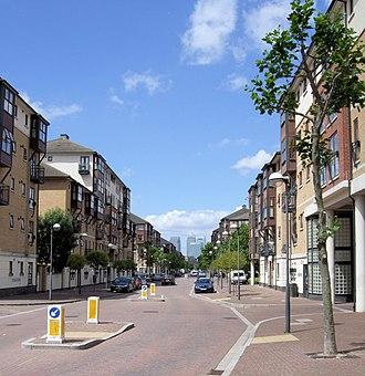 Silvertown - Image: Wesley Avenue, Britannia Village, Silvertown