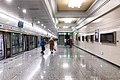 Westbound platform of L15 Qinghua Donglu Xikou Station (20210128181724).jpg