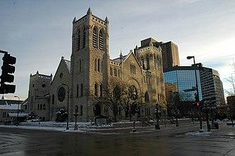 Westminster Presbyterian Church (Minneapolis) - Westminster in winter