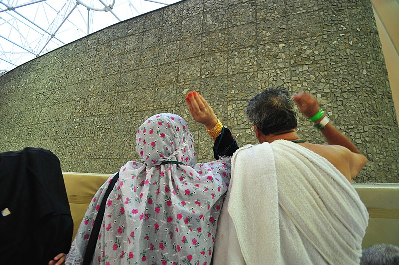 While pilgrims are performing these rites, Muslims who are not at Hajj are celebrating the Eid al-Adha holiday. - Flickr - Al Jazeera English.jpg
