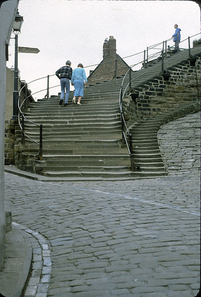 File:Whitby - The 199 Steps (3720952045).jpg