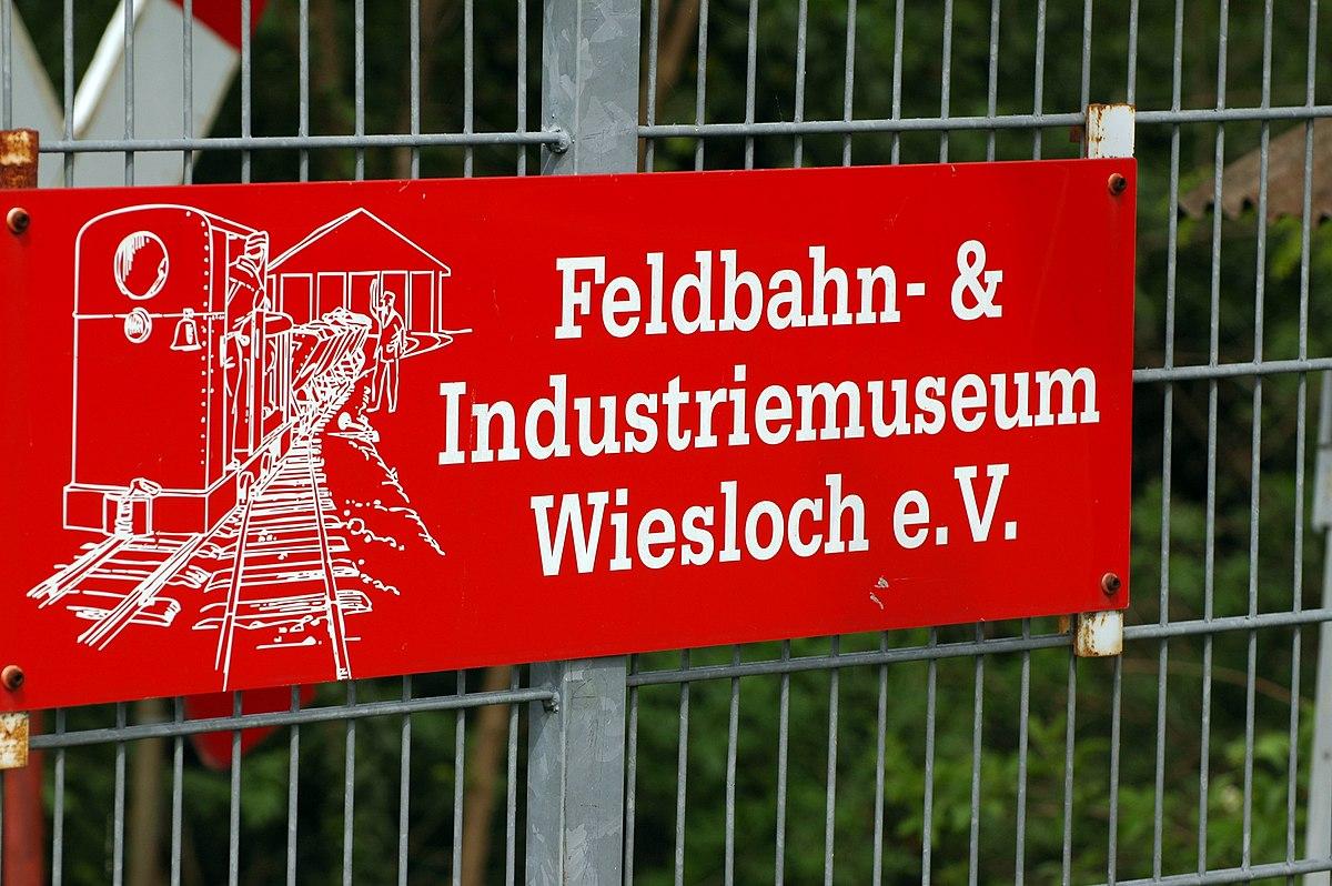 Wiesloch Feldbahn And Industrial Museum Wikipedia