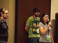 Wikimania hackaton begins 7158954.JPG
