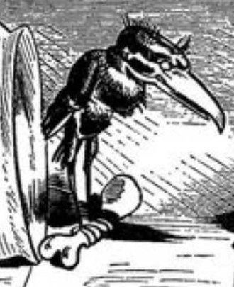 "Focke-Wulf Ta 183 - A menacing ""Hans Huckebein"", the namesake raven for the Ta 183"