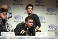 Will Poulter & Dylan O'Brien (13925752612).jpg