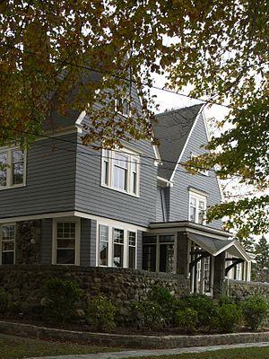 William R. Bateman House - Image: William R. Bateman House Quincy MA 02