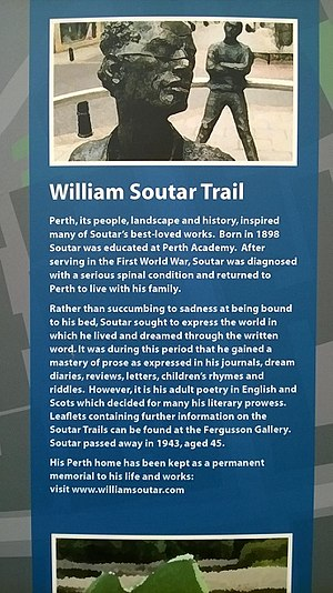 William Soutar - William Soutar Trail, Perth