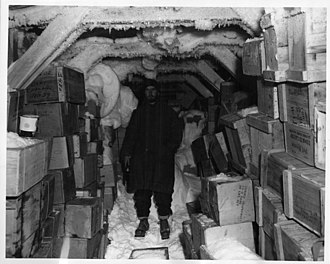 Operation Windmill - Supplies for the Windmill Expedition, 1947