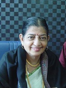 With P Susheela (cropped).jpg