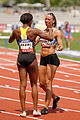 Women 100 m hurdles French Athletics Championships 2013 t150134.jpg