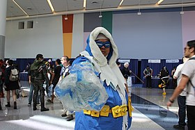 Cosplay de Captain Cold à la WonderCon 2015.