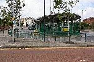 Woodside, Merseyside - Woodside bus station