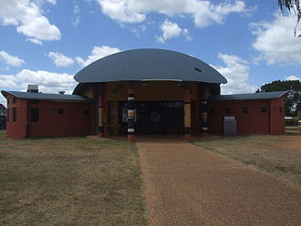 Woorabinda, Queensland - Council building.