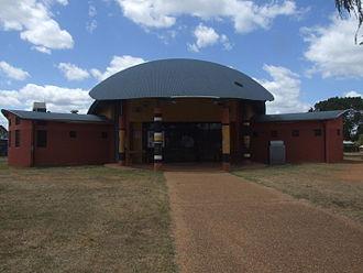 Woorabinda, Queensland - Council building.