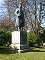 Wrangel Statue, Stadtpark Flensburg.JPG