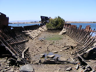 Port River - Image: Wreck of the Sunbeam