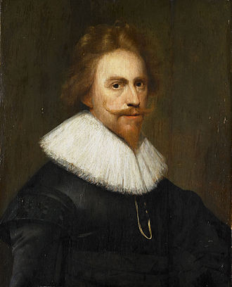 Wybrand de Geest - Wybrand de Geest, self-portrait 1629