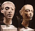 Xviii dinastia, ritratto della coppia reale nefertiti e achenaton, 1340 ac ca. 02.JPG