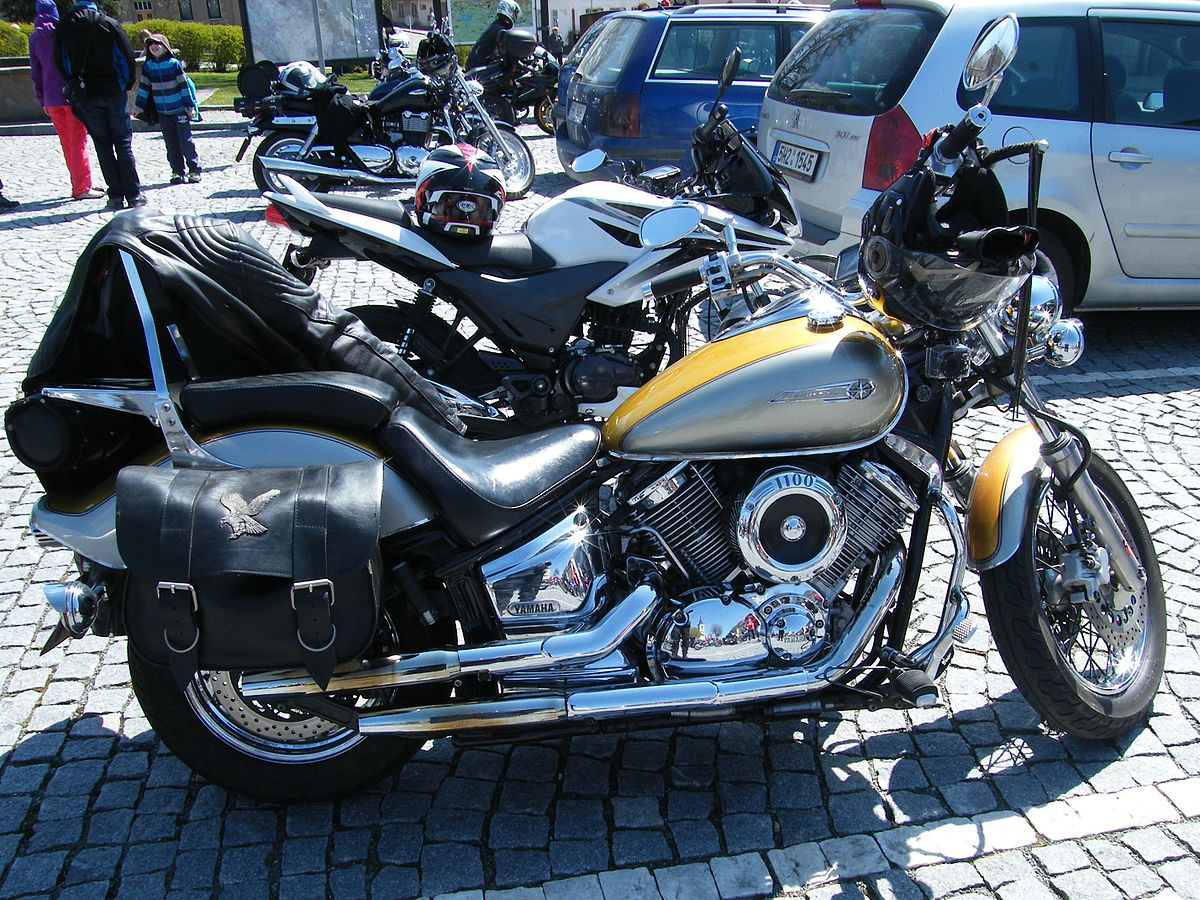 Yamaha V Star Lowered