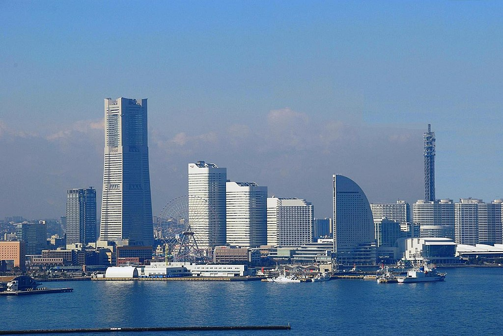 Yokohama downtown area