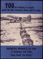 You are helping to supply parts for this transport plane and its Jeeps. Raybestos Products are vital to airplanes and... - NARA - 534808.tif
