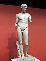 Young athlete from Dresden (casting in Pushkin museum) by shakko 04.jpg