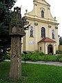 Złotoryja (Dln.Śląsk) nr 524 z 27-02-1959, kapliczka słupowa z końca XV wieku przy koścele św.Jadwigi - 2011-08-27 AdaM.JPG