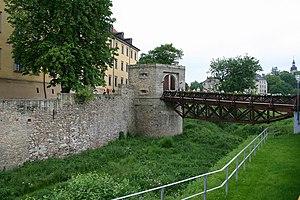 Schloss Moritzburg (Zeitz) - West gate
