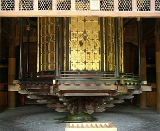 Kyōzō - Revolving shelves at Zenkō-ji