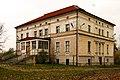 Zespół pałacowy, Pałac, A-3802-639-W; PL, DS, powiat wrocławski, gmina Długołęka, ul. Wrocławska 20; Kriskros.jpg