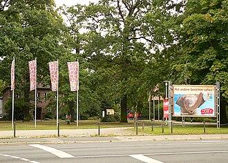 Hanover Zoo - Entrance to the Hanover Zoo