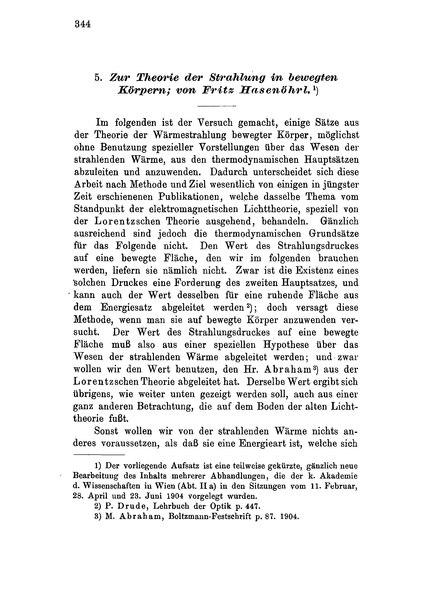 File:Zur Theorie der Strahlung in bewegten Körpern.djvu