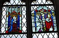 Zweisimmen église vitrail Vierge et Crucifixion cton Berne.jpg