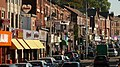 """""""Curry Mile""""- Wilmslow Road in Rusholme, Manchester - panoramio.jpg"""