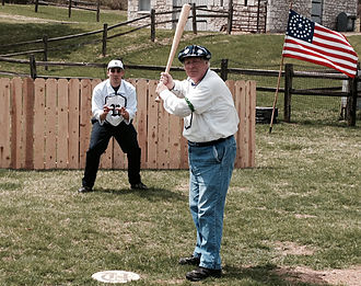 """Vintage base ball - Image: """"For the Glory of the Game"""""""