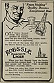 """""""ROESSLE PREMIUM LAGER"""" Roessle Brewery, Roxbury, Massachusetts 1915 ad - from the Plymouth Theatre program (IA plymouththeatreg00unse) (page 32 crop).jpg"""