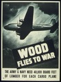 """WOOD FLIES TO WAR"" (CARGO PLANES ARMY PLYWOOD) - NARA - 516178.tif"
