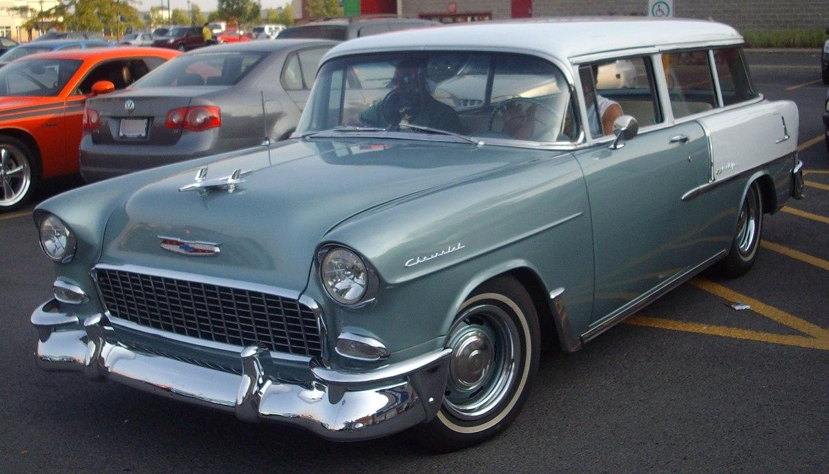 Chevrolet Nomad — Вікіпедія