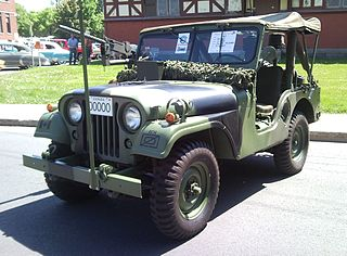 Willys M38A1 Motor vehicle