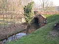 'The Bridge Over The Wesley Brook' - not quite an epic^ - geograph.org.uk - 696542.jpg