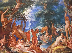 Golden age (metaphor) - The Golden Age by Joachim Wtewael, 1605