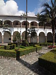 (Iglesia de San Francisco, Quito) Convento pic.ab15 interior courtyard.JPG