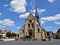 Église Saint-Sauveur de Thury-Harcourt. Vue ouest.jpg