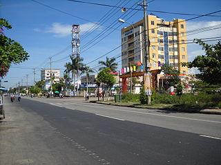 Tam Kỳ City in Quảng Nam Province, Vietnam