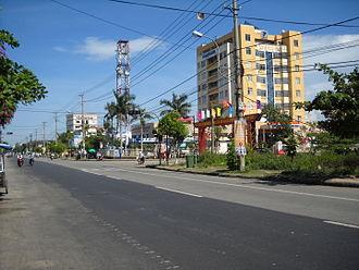 Tam Kỳ - Image: Đường phố ở Tam Kỳ, Quảng Nam