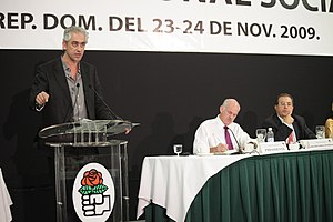PASOK - Deputy Foreign Minister of Greece in the Socialist International conference