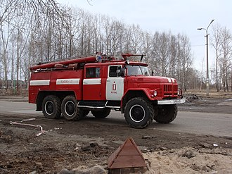 ZIL-131 - ZIL-131-based fire engine